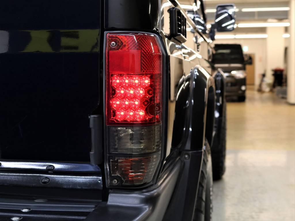 LEDテールランプ☆   トヨタ ランドクルーザー70 4.2 ZX ディーゼル 4WD