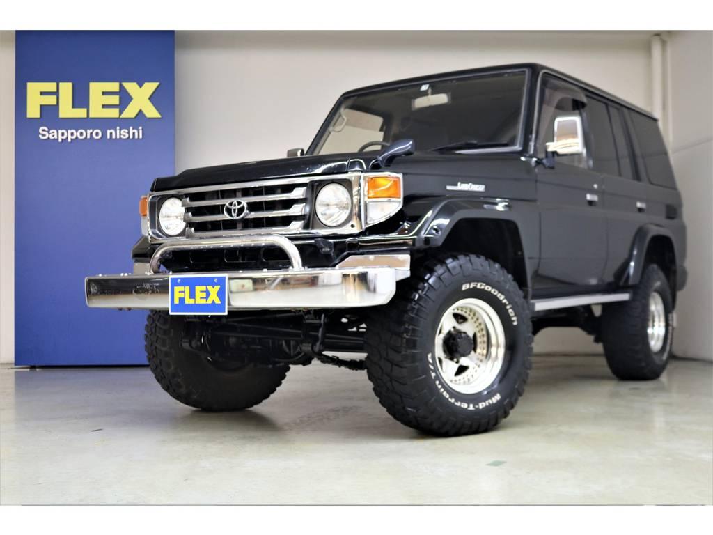 たくさんのご来店・お問い合わせを心よりお待ちしております♪   トヨタ ランドクルーザー70 4.2 ZX ディーゼル 4WD