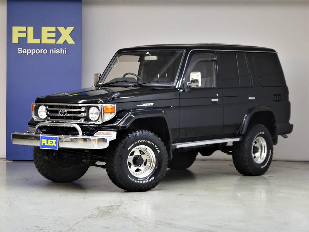 平成10年式ランドクルーザー77ZX4200ディーゼル☆   トヨタ ランドクルーザー70 4.2 ZX ディーゼル 4WD