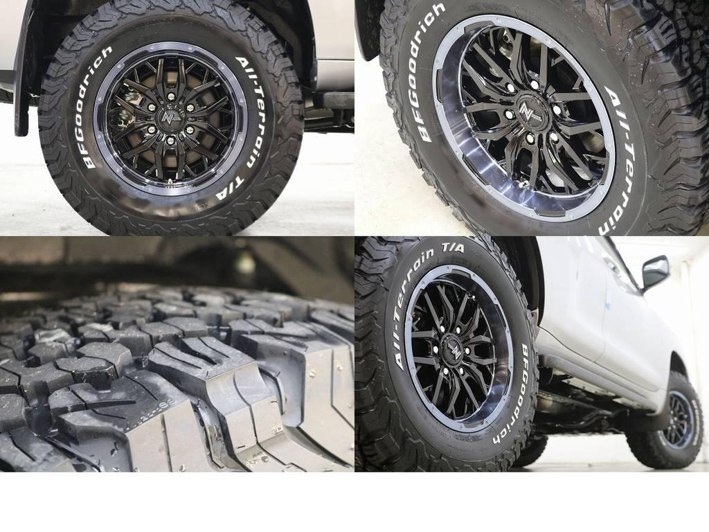 新品ナイトロパワーガジェット×BFグットリッチATタイヤ☆ | トヨタ ランドクルーザープラド 2.8 TX ディーゼルターボ 4WD 5人