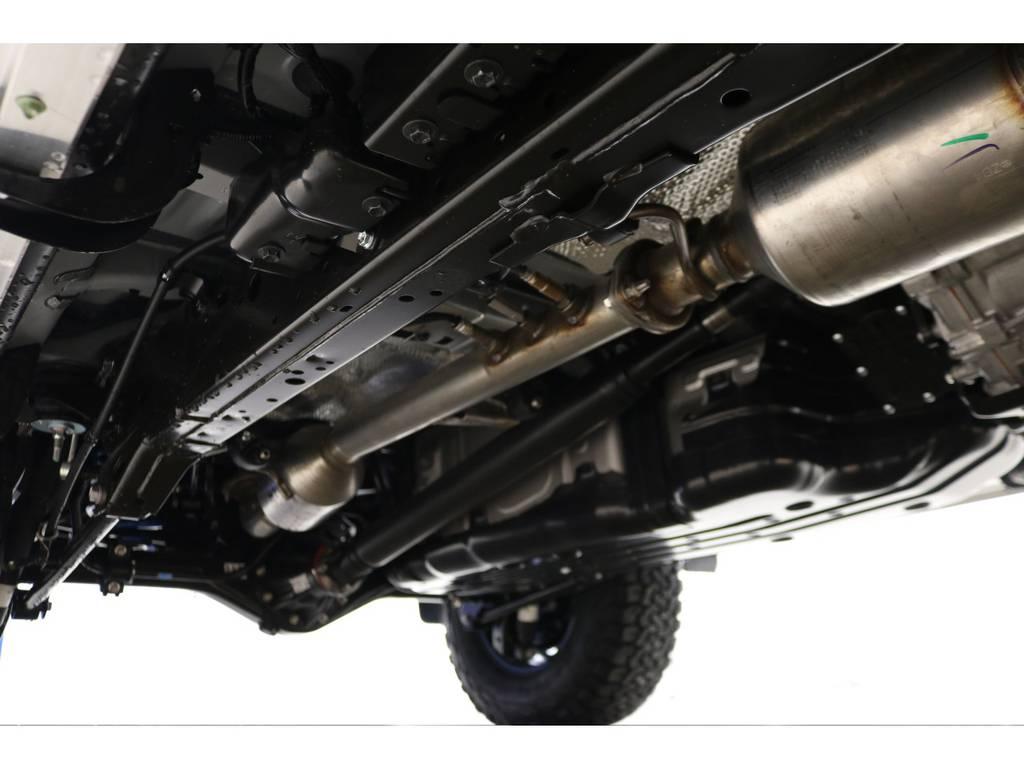 下廻りの防錆塗装もお任せください♪ | トヨタ ランドクルーザープラド 2.8 TX ディーゼルターボ 4WD 5人