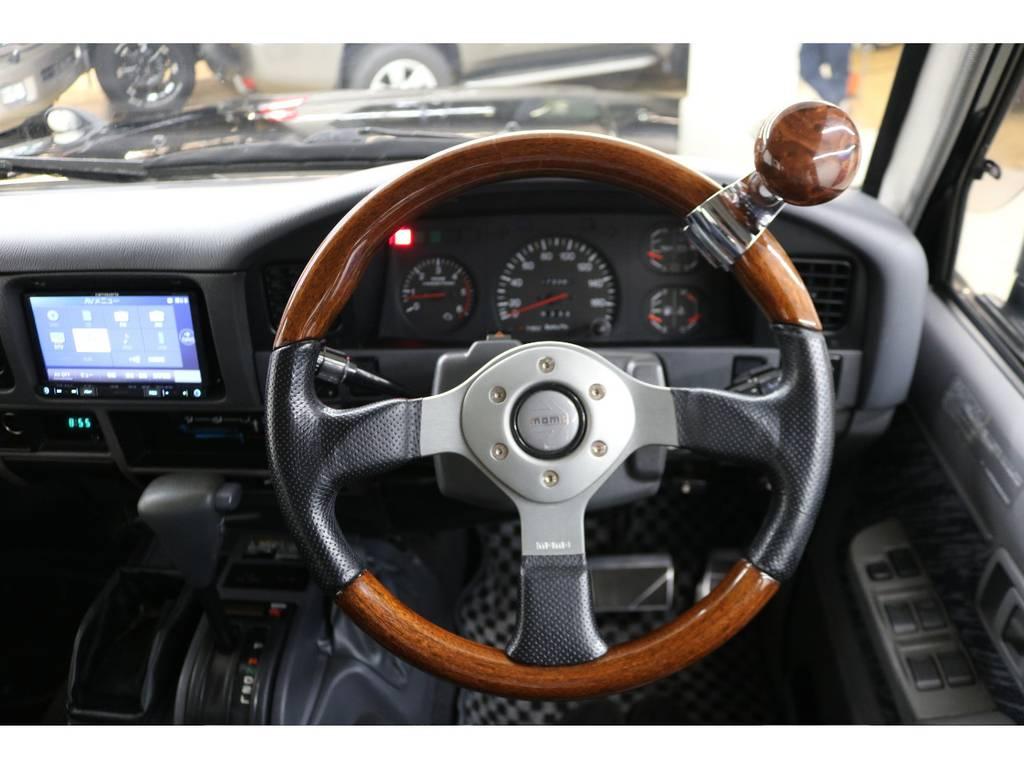 モモステアリング☆ | トヨタ ランドクルーザープラド 3.0 SXワイド ディーゼルターボ 4WD