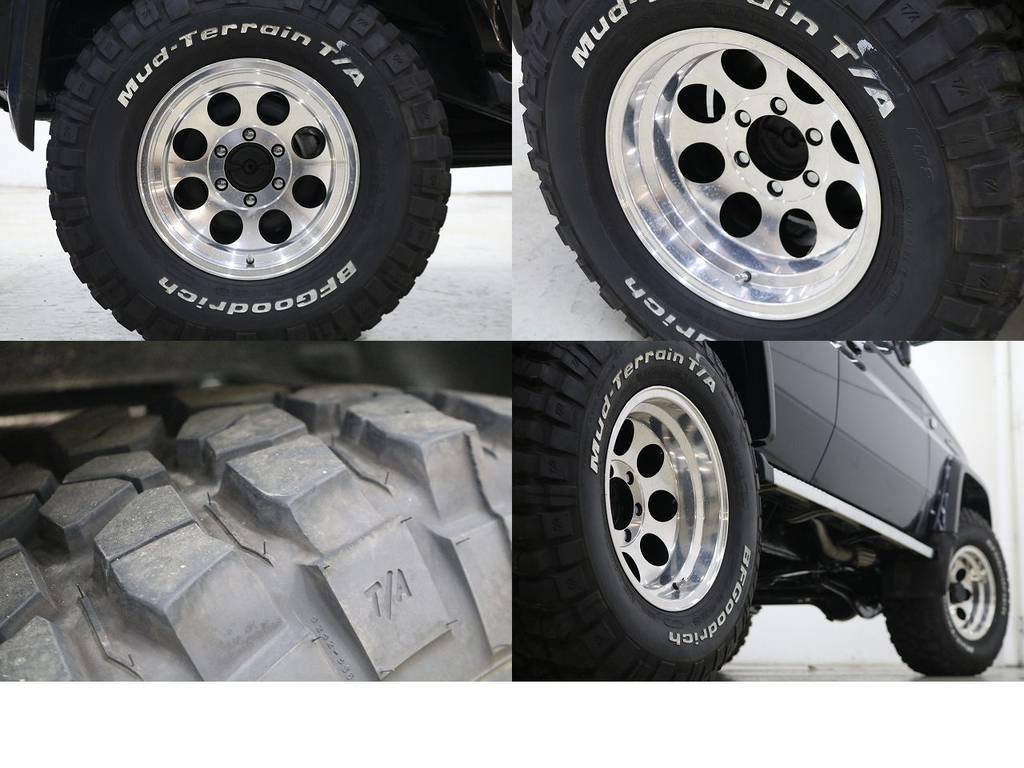 BFグットリッチMTタイヤ×社外16インチAW☆ | トヨタ ランドクルーザープラド 3.0 SXワイド ディーゼルターボ 4WD