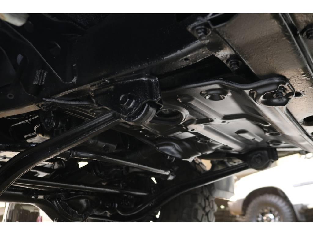 下廻りになります☆ | トヨタ ランドクルーザープラド 3.0 SXワイド ディーゼルターボ 4WD