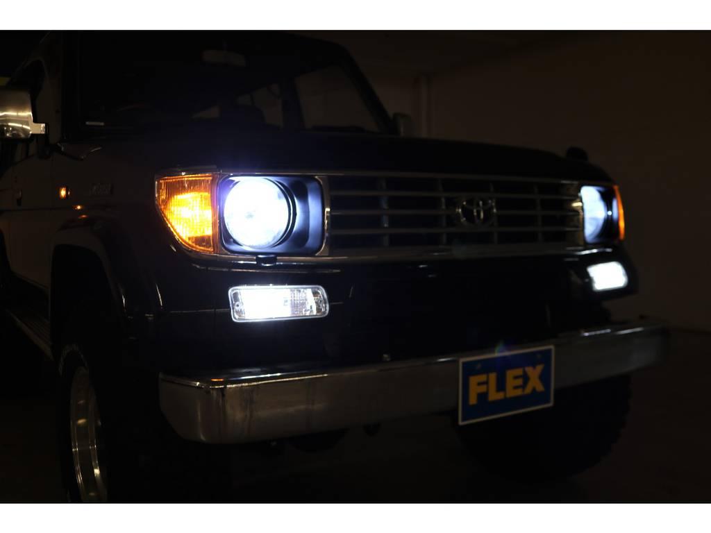 HIDヘッドライト☆LEDランプ☆ | トヨタ ランドクルーザープラド 3.0 SXワイド ディーゼルターボ 4WD