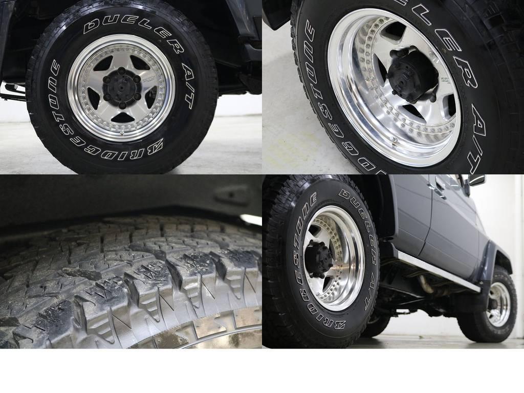 ザイジックスホイール☆ | トヨタ ランドクルーザー70 4.2 ZX ディーゼル 4WD