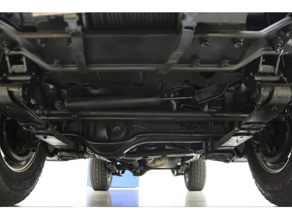下廻りになります☆ | トヨタ ランドクルーザー70 4.2 ZX ディーゼル 4WD