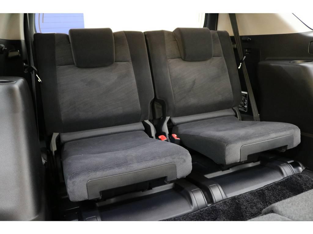 3列目シートになります☆   トヨタ ランドクルーザープラド 2.8 TX ディーゼルターボ 4WD 7人