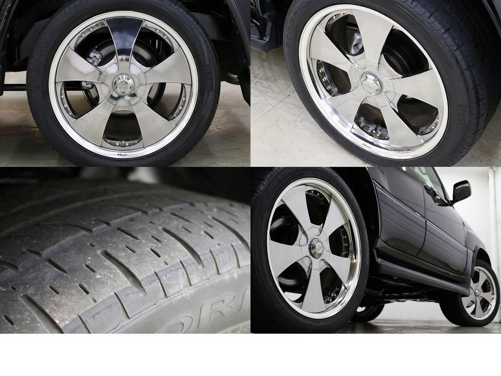 ロデオドライブ22インチAW☆ | トヨタ ランドクルーザーシグナス 4.7 4WD