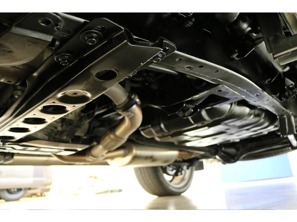 下廻りになります☆ | トヨタ ランドクルーザーシグナス 4.7 4WD