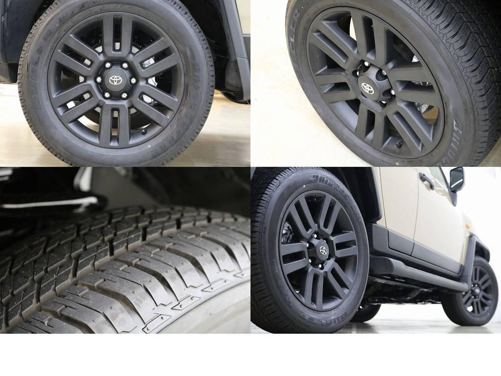 純正20インチアルミホイール☆ブラックアウト☆ | トヨタ FJクルーザー 4.0 カラーパッケージ 4WD トレイル仕様
