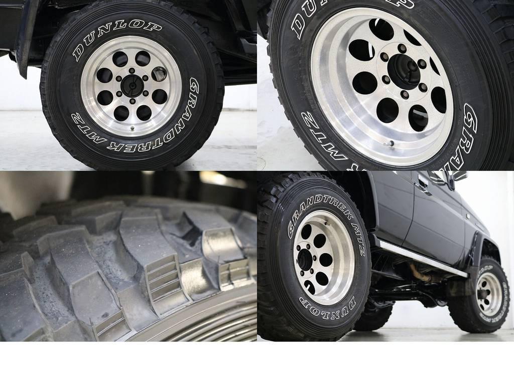 グラントレックMT2タイヤ×社外16インチAW☆ | トヨタ ランドクルーザープラド 3.0 EXワイド ディーゼルターボ 4WD
