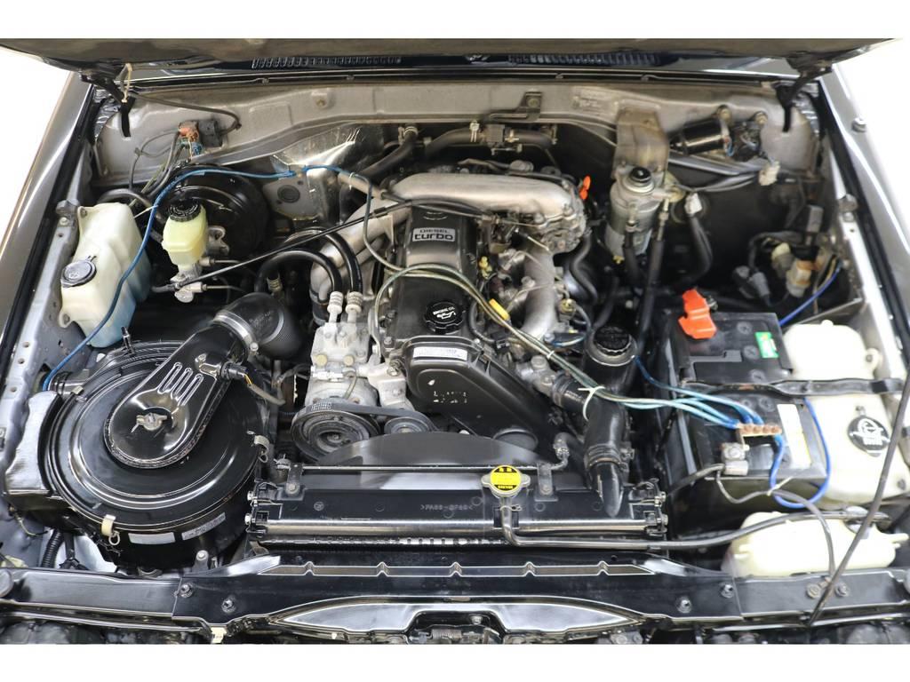 耐久性に優れた1KZエンジン搭載☆ | トヨタ ランドクルーザープラド 3.0 EXワイド ディーゼルターボ 4WD