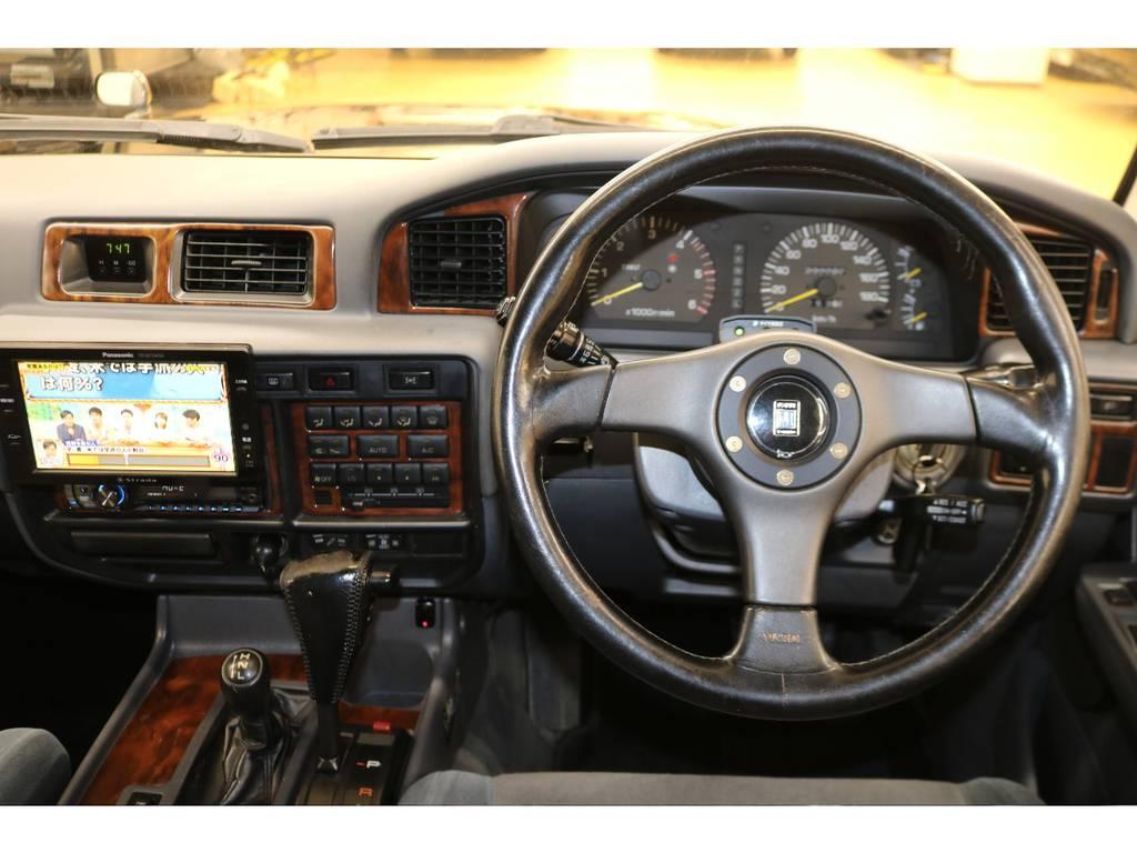 ナルディハンドル☆ | トヨタ ランドクルーザー80 4.2 VXリミテッド ディーゼルターボ 4WD