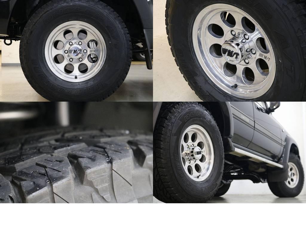 ミッキートンプソンクラシックⅡホイール×ブリジストンATタイヤ☆ | トヨタ ランドクルーザー80 4.2 VXリミテッド ディーゼルターボ 4WD