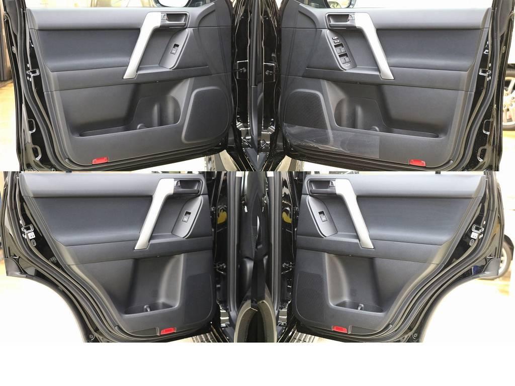 ドアトリムになります☆ | トヨタ ランドクルーザープラド 2.8 TX ディーゼルターボ 4WD 5人