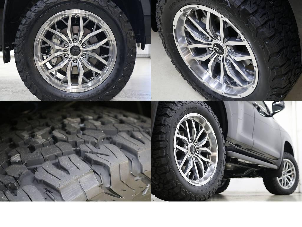 BFグットリッチATタイヤ×オリジナルガジェット20インチAW☆ | トヨタ ランドクルーザープラド 2.8 TX ディーゼルターボ 4WD 5人