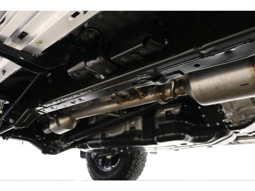 下廻りの防錆塗装もお任せください♪新車時に施工するのをオススメ致します♪ | トヨタ ランドクルーザープラド 2.8 TX ディーゼルターボ 4WD 5人