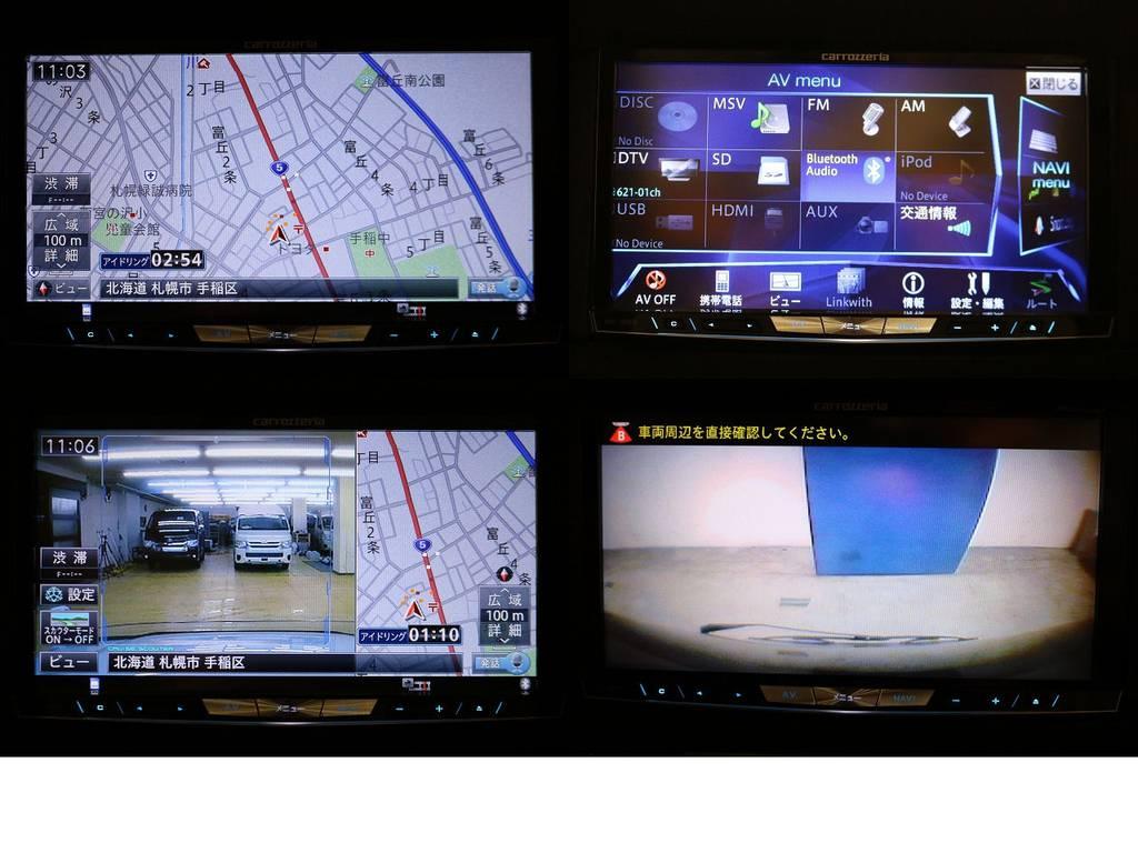 カロッツェリアサイバーナビ☆ドライブレコーダー☆バックカメラ☆ | トヨタ ランドクルーザー100 4.2 VXリミテッド ディーゼルターボ 4WD