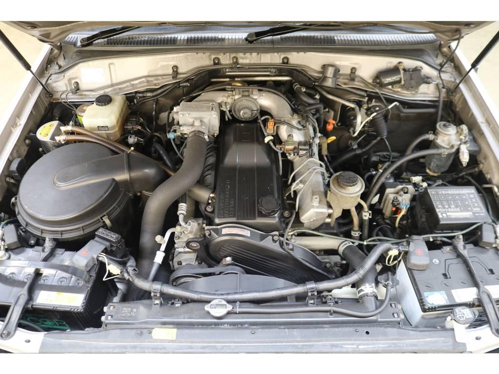 耐久性に優れたディーゼルエンジン搭載☆ | トヨタ ランドクルーザー100 4.2 VXリミテッド ディーゼルターボ 4WD