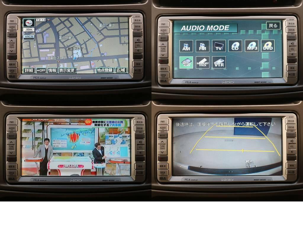 HDDナビ&バックカメラ☆地デジ対応です♪ | トヨタ ランドクルーザー100 4.7 VXリミテッド 4WD