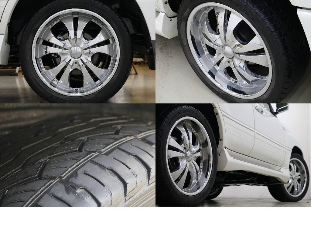 22インチアルミホイール☆ | トヨタ ランドクルーザー100 4.7 VXリミテッド 4WD