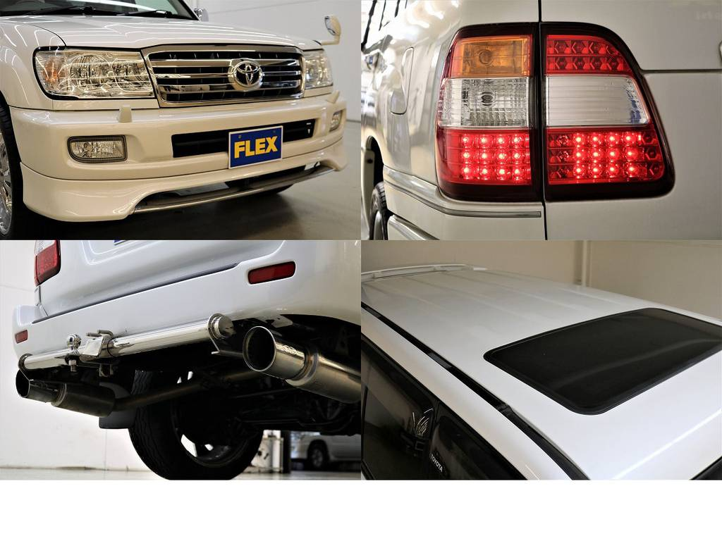 カスタム満載です♪ | トヨタ ランドクルーザー100 4.7 VXリミテッド 4WD