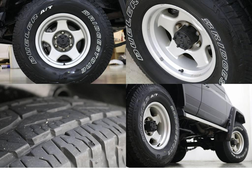 ブラットレーV16インチホイール×ブリジストンATタイヤ☆ | トヨタ ランドクルーザー70 4.2 ZX ディーゼル 4WD