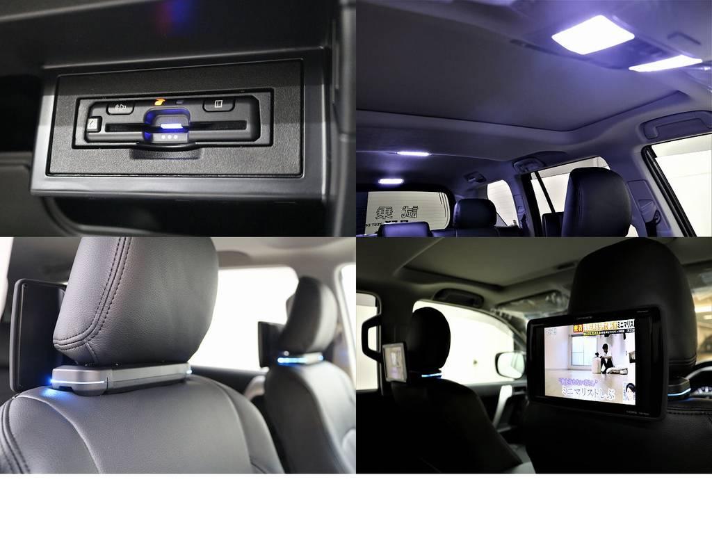 ビルトインETC☆オリジナルLEDルームランプ☆カロッツェリアリアモニター☆ | トヨタ ランドクルーザープラド 2.8 TX ディーゼルターボ 4WD 7人 試乗車