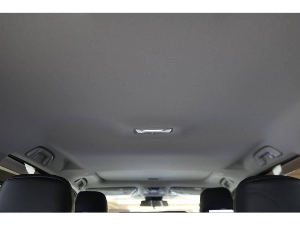 天張りになります☆ | トヨタ ランドクルーザープラド 2.8 TX ディーゼルターボ 4WD 7人 試乗車