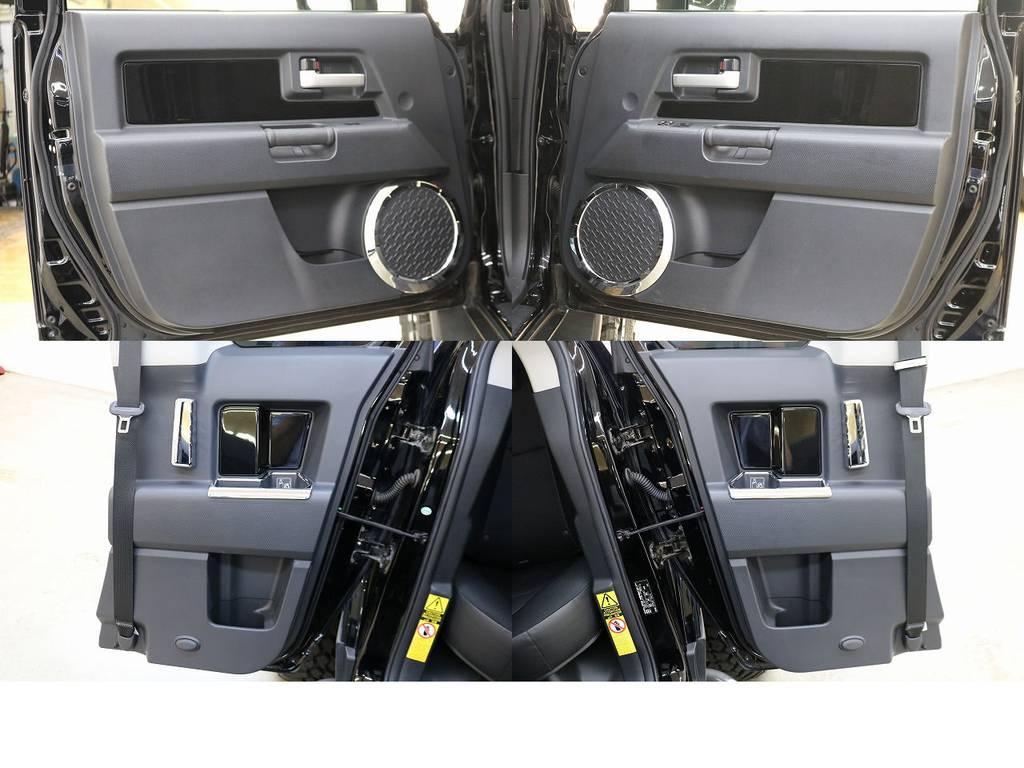 ドアトリムになります☆ | トヨタ FJクルーザー 4.0 ブラックカラーパッケージ 4WD