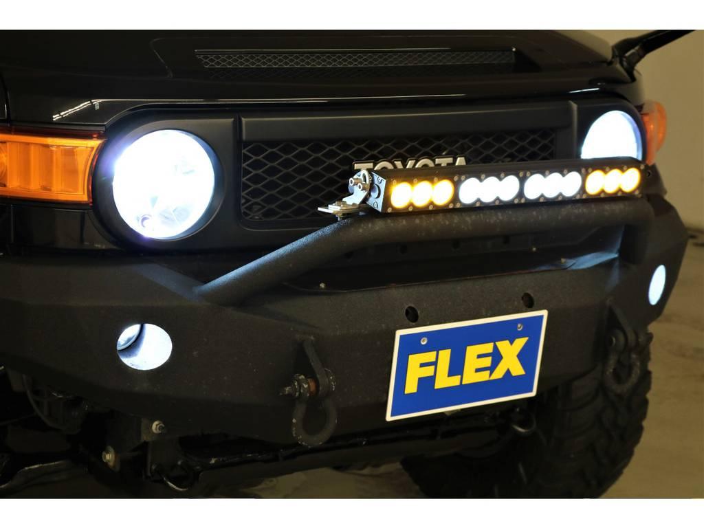 各所LED灯火類に変更済み♪ | トヨタ FJクルーザー 4.0 ブラックカラーパッケージ 4WD