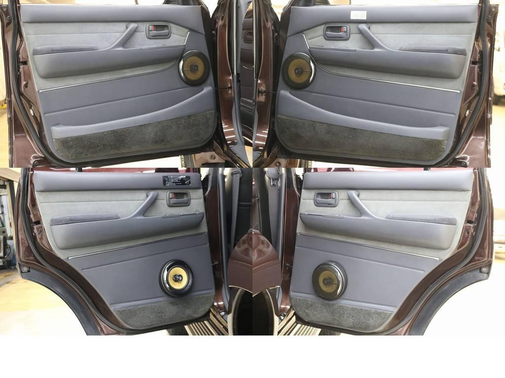 内張りになります☆ | トヨタ ランドクルーザー80 4.2 VXリミテッド ディーゼルターボ 4WD