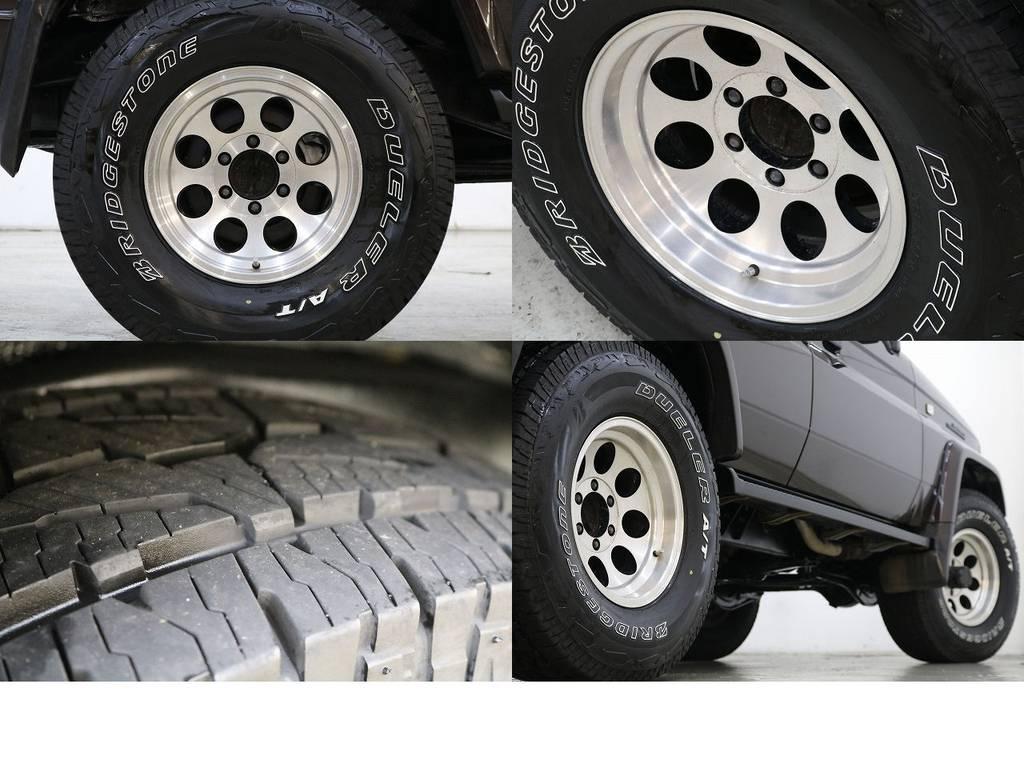 デューラーATタイヤ×社外16インチAW☆ | トヨタ ランドクルーザープラド 3.0 EXワイド ディーゼルターボ 4WD