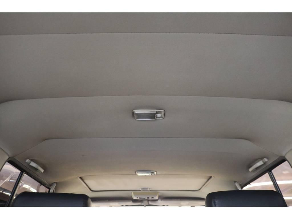 天張りになります☆ | トヨタ ランドクルーザープラド 3.0 EXワイド ディーゼルターボ 4WD