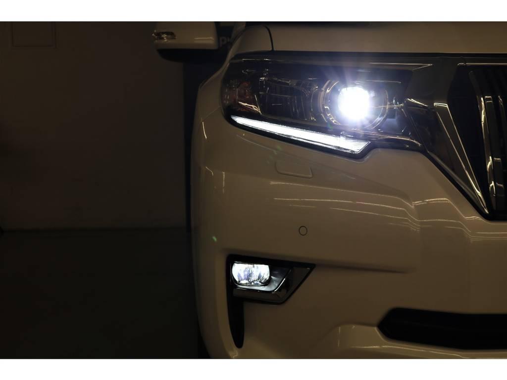 LEDヘッドランプ&LEDフォグランプ☆