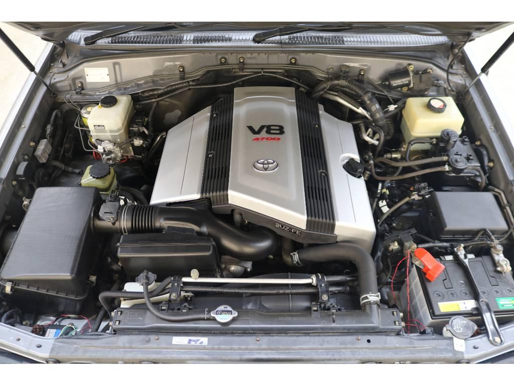 世界中で人気のV8エンジン搭載☆