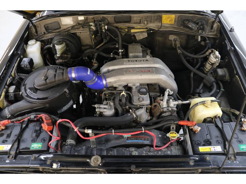 耐久性に優れたディーゼルエンジン搭載☆60系最速エンジンです♪