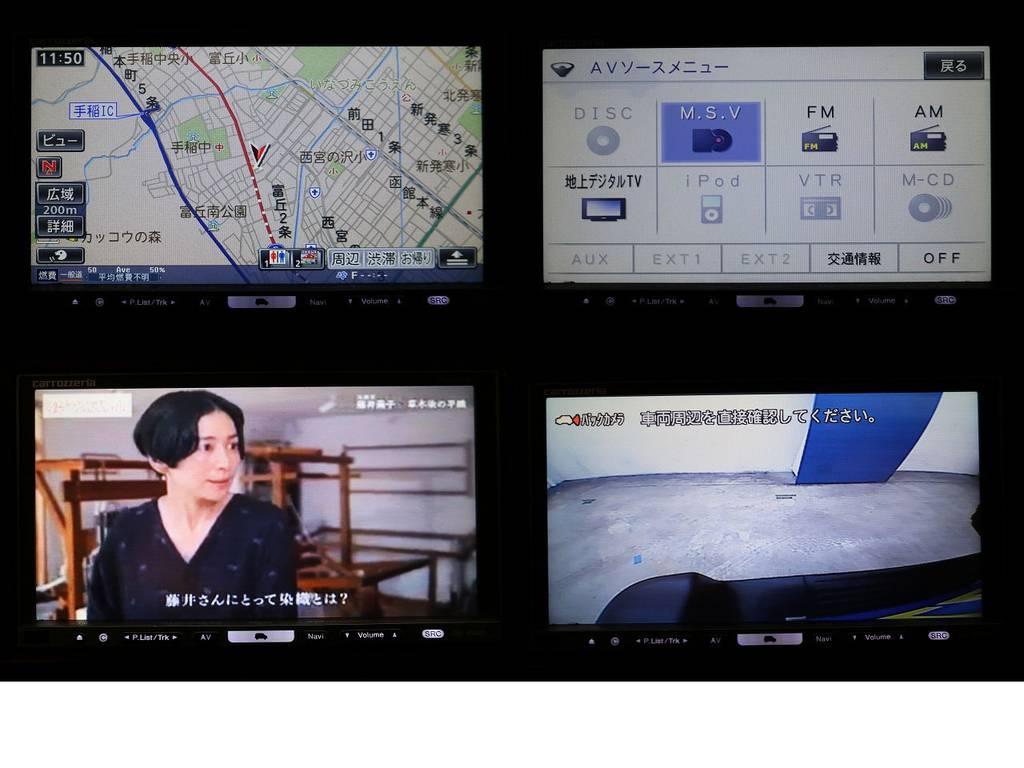 フルセグ対応HDDナビ☆バックカメラ☆