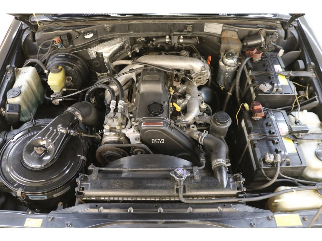 耐久性に優れた1KZエンジン搭載☆トヨタの名機と呼ばれております♪