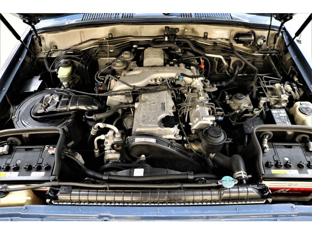 耐久性に優れたディーゼルエンジン搭載☆