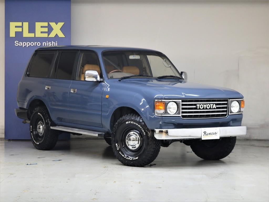 ベース車は良質な後期型ディーゼルターボ☆全塗装アルルブルー☆