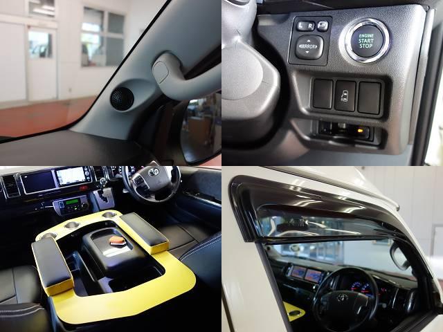 AピラースピーカーKIT装着済み!! | トヨタ ハイエース 2.7 GL ロング ミドルルーフ 試乗車