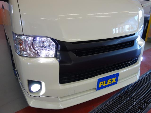 LEDフォグ変更済み!! | トヨタ ハイエース 2.7 GL ロング ミドルルーフ 試乗車
