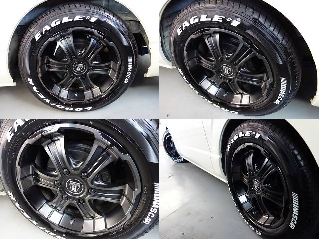 オリジナルバルベロディープス17インチアルミ装着済み!! | トヨタ ハイエース 2.7 GL ロング ミドルルーフ 試乗車