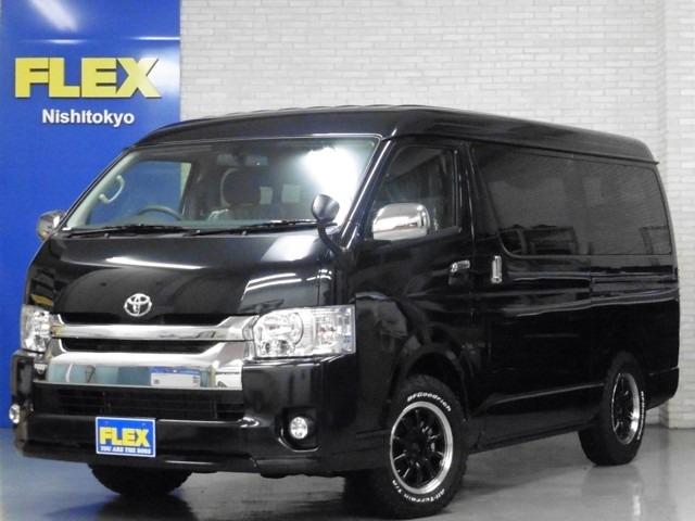 新車ワゴン4WD「Ver.1」ESSEX16インチ&ATタイヤ装備、コブラショートリップ、ツインナビパッケージ、床張り