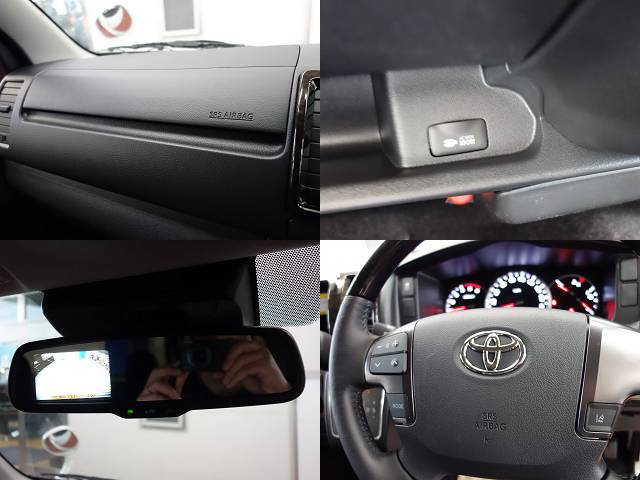 メーカーオプションも充実しております!! | トヨタ ハイエースバン 2.0 スーパーGL ロング ダークプライム