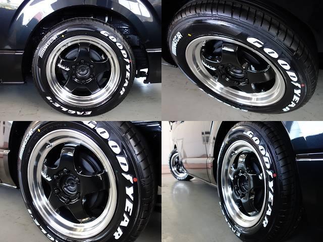 ワーク製S1HC17インチアルミ&ナスカータイヤ装備!! | トヨタ ハイエースバン 2.8 スーパーGL ロング ディーゼルターボ ダークプライムTSS