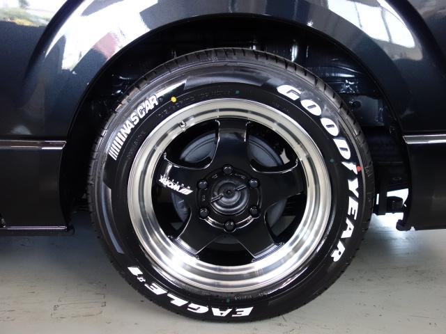 車検対応ナスカータイヤ17インチ装備!! | トヨタ ハイエースバン 2.8 スーパーGL ロング ディーゼルターボ ダークプライムTSS