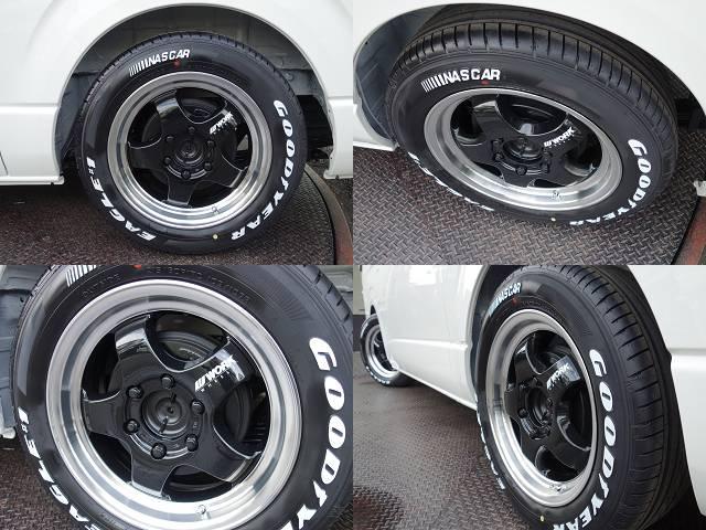 ワーク製S1HC17インチアルミ&ナスカータイヤ装着済み!! | トヨタ ハイエースバン 2.0 DX ロング スポーツパッケージTSS付